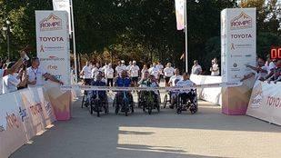 Madrid celebra a 'I Milla Rompe tus Barreras'