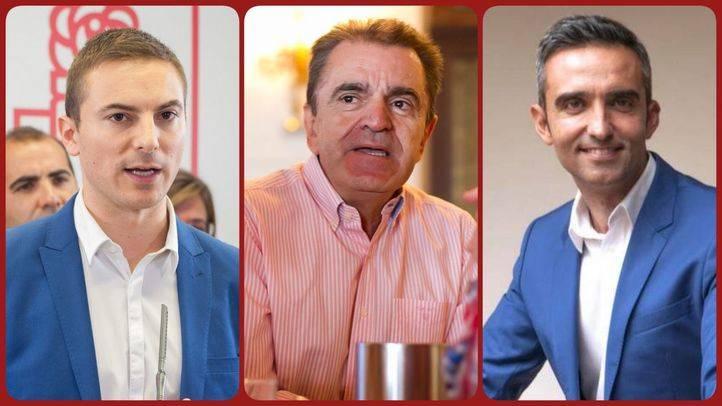 Candidatos a las primarias del PSOE-M