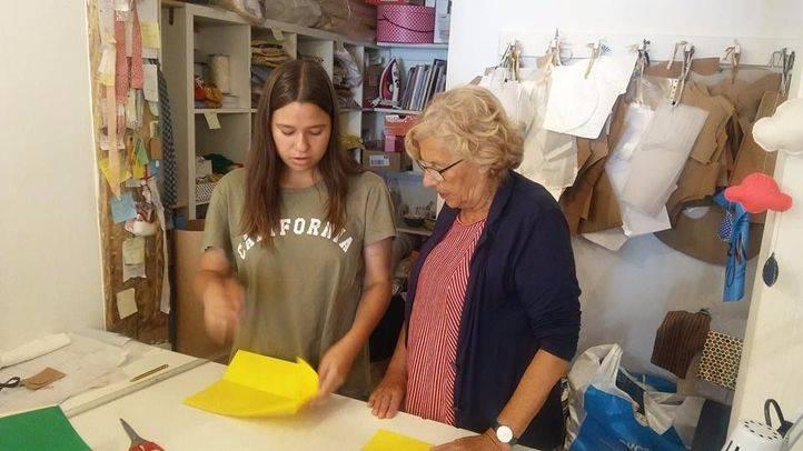 Atraco en 'Zapatelas', la tienda solidaria de Carmena en Malasaña