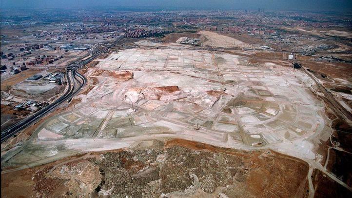 Foto aérea de Los Berrocales.