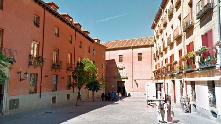 Convento de las Carboneras del Corpus Christi en la Plaza del Conde de Miranda.