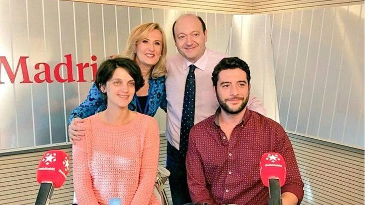 Pilar Sánchez Acera y César Zafra durante el espacio Com,Permiso de Madrid Directo en Onda Madrid.