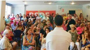 Enrique del Olmo pacta con la candidatura de Lobato