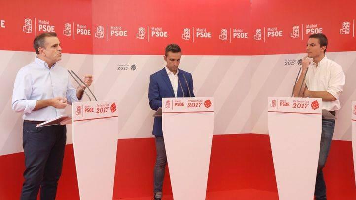 Debate a tres en las Primarias del PSOE-M
