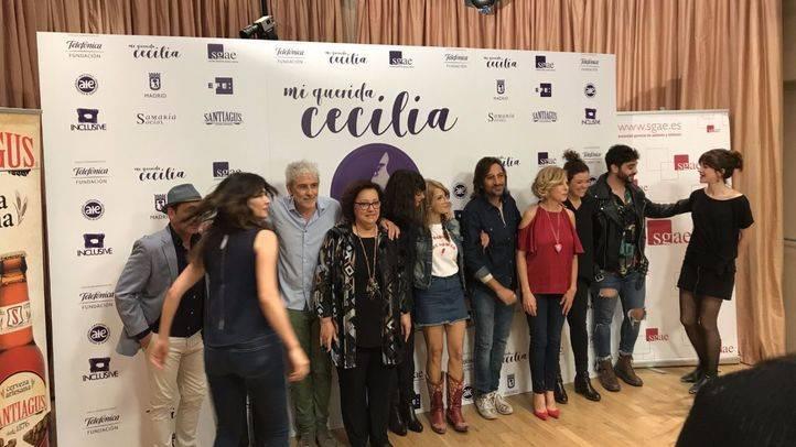 Grandes artistas se reúnen en un concierto homenaje a la mítica Cecilia