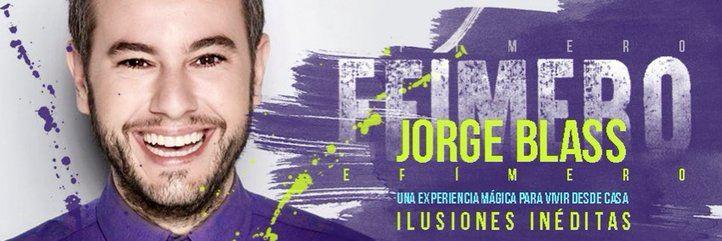 Jorge Blass estrena 'EFÍMERO'