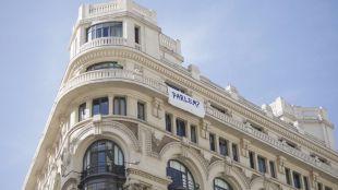 El edificio de la sede de Madridiario, noticia por el 'Parlem?'