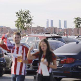 El boom de las plazas de aparcamiento de pago en la calle junto al Wanda