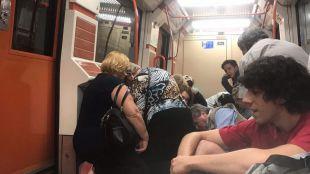 Los dos detenidos por la pelea en Metro pertenecían a bandas rivales