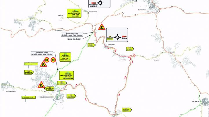 La carretera M-512 cerrará por reformas
