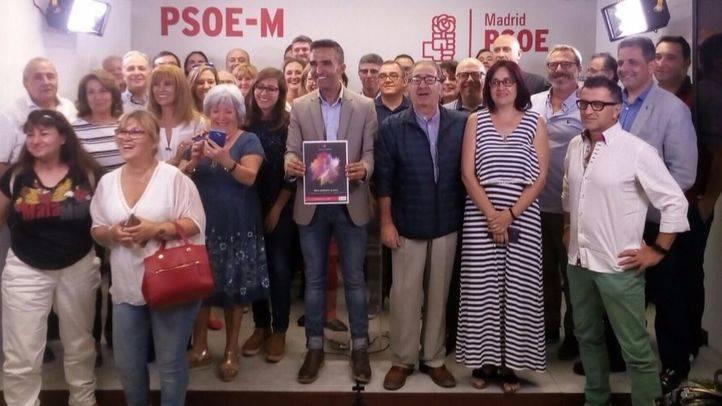 Jabonero en  la presentación del programa de su candidatura Madrid es mejor.