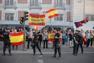 Madrid, a favor y en contra del referéndum