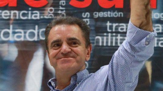 José Manuel Franco votando en las primarias del PSOE-M