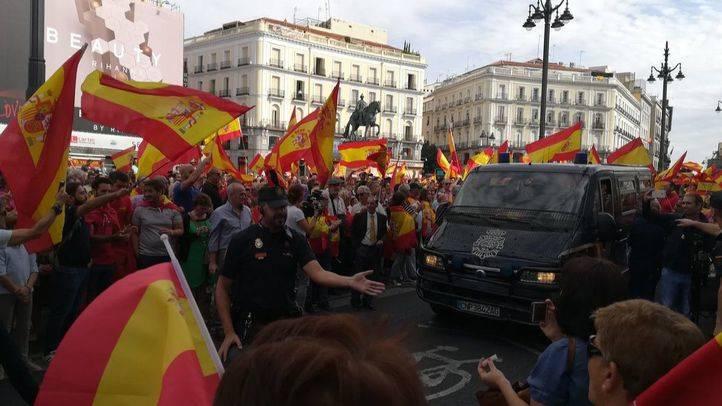 El partido Libres se manifiesta contra el referéndum catalán