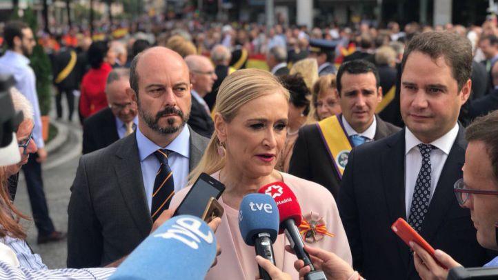 Cifuentes y Carmena: dos visiones de Cataluña