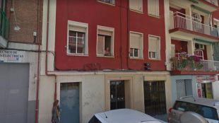 Calle Germán Pérez Carrasco, domicilio de la fallecida.