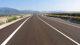 Foto de archivo de una carretera
