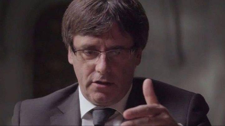 Puigdemont anuncia que Cataluña declarará su independencia en unos días