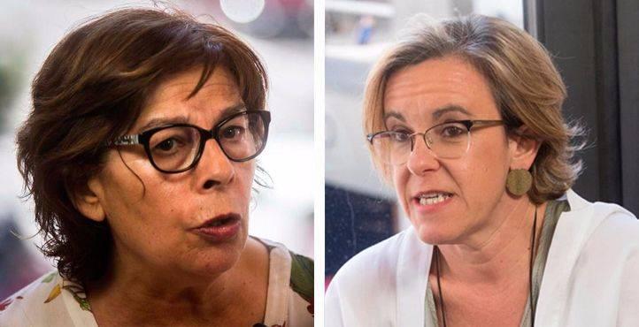 Inés Sabanés y Purificación Causapie, cara a cara en Com.permiso, en Onda Madrid.