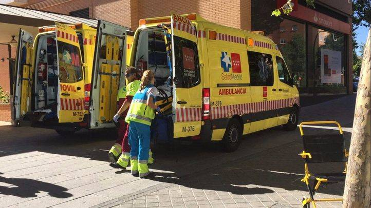 Foto de archivo de una ambulancia del Summa.