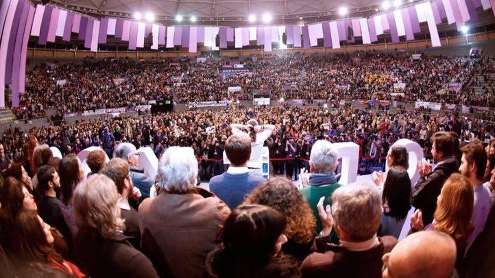 Pablo Iglesias clausura la asamblea de Podemos Vistalegre II.