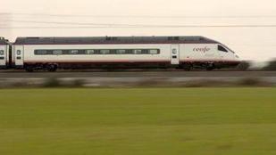 Uno de los trenes de Avant, Renfe