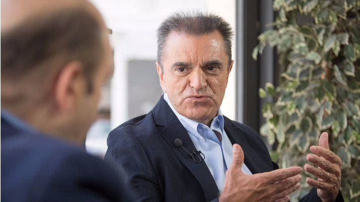 Entrevista a José Manuel Franco, coportavoz del Psoe-M en la Asamblea de Madrid y precandidato a las primarias del Psoe-M en la terraza de Gran Vía.