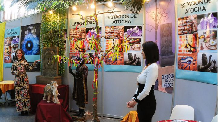 Feria Esotérica en el jardín invernadero de Atocha (Archivo)