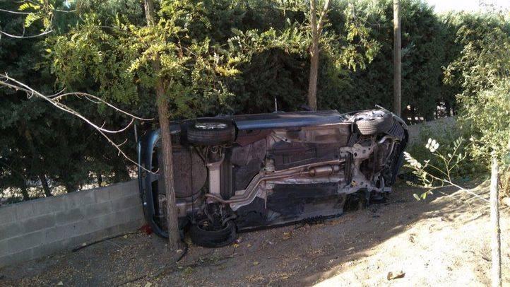 Cinco heridos en un choque en Navalcarnero
