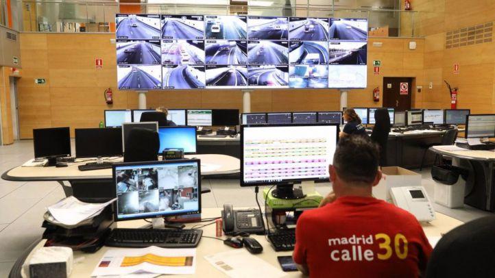 Centro de control y gestión automatizada de incidentes de Calle 30.