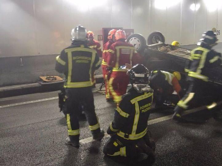 Los bomberos de los túneles de la M-30 exigen más recursos