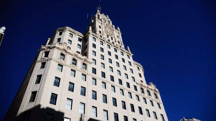 Edificio Telefónica en la Gran Vía, uno de los edificios protegidos por el Ayuntamiento.
