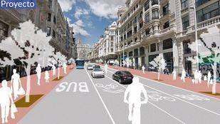 Proyecto del Ayuntamiento de Madrid para la remodelación de Gran Vía