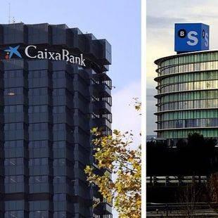Madrid, posible destino de CaixaBank y Sabadell