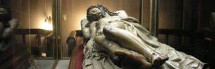 El día que el Cristo Yacente de El Pardo volvía a su morada