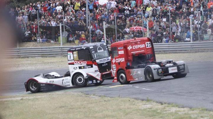 Foto de archivo de una de las carreras del Gran Premio Camión de España