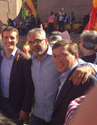 Los políticos se unen a las manifestaciones de Madrid