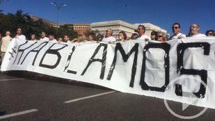 Manifestantes piden unidad; mareas blancas, diálogo
