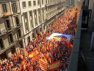 Una 'mayoría silenciosa' de un millón de personas