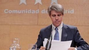El consejero Ángel Garrido comparece ante la prensa tras la reunión del Consejo de Gobierno