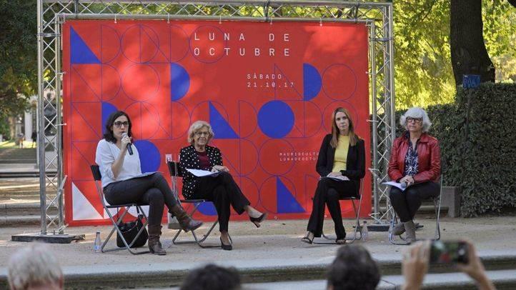Rueda de prensa de presentación del programa artístico-cultural Luna de Octubre