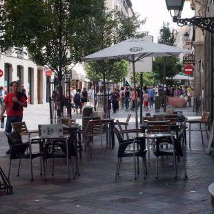 Centro retira 140 terrazas por incumplir la legalidad