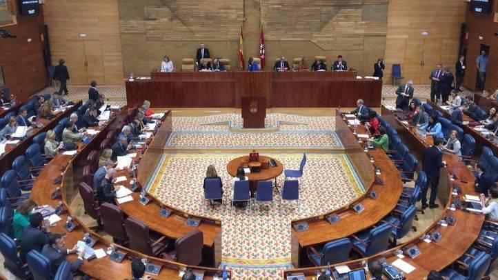 Pleno en la Cámara regional, este miércoles