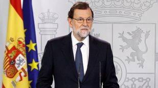 Rajoy pide a Puigdemont que aclare si declaró o no la independencia antes de aplicar el 155