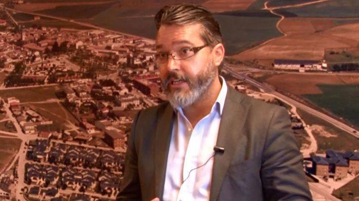Borja Gutiérrez alcalde de Brunete.