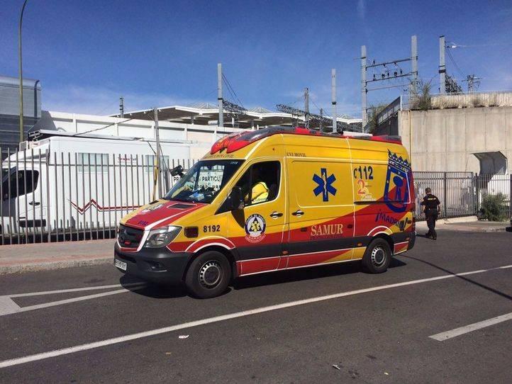 Herido grave por arma blanca en Ciudad Lineal