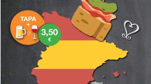 Tapas en Chamartín, homenaje a la comida española