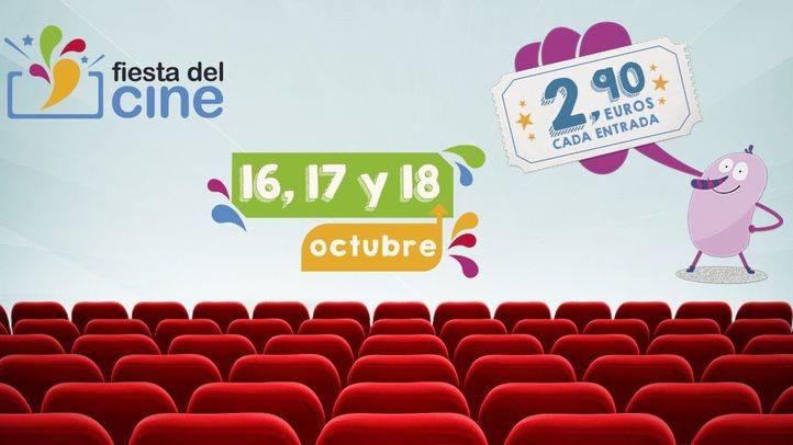 Vuelve la Fiesta del Cine en octubre.