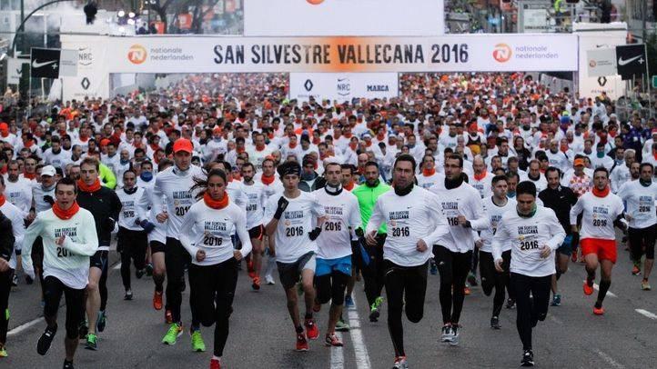 Carrera popular San Silvestre Vallecana 2016.