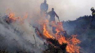 Madrid ayuda a Galicia a luchar contra los incendios